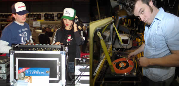Guest DJ's at the World's biggest record fairs in Utrecht, NL