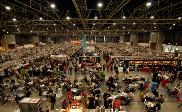 The world's largest record fair in Utrecht, The Netherlands, NL