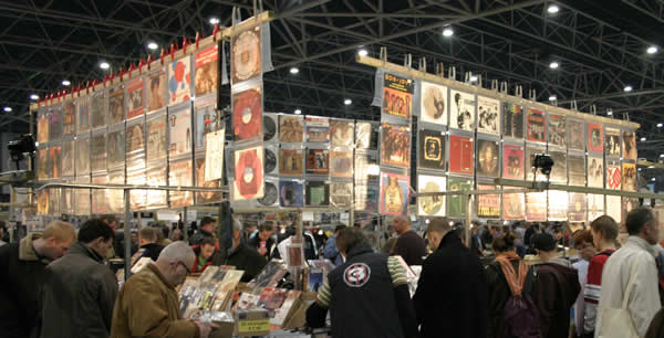 The world's largest record fairs - vinyl collectors fair in Utrecht