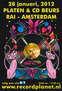 Platenbeurs RAI Amsterdam 28 januari 2012