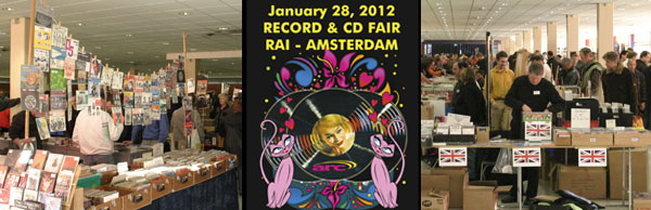 Platenbeurs - Record Fair  - RAI Amsterdam January 28, 2012