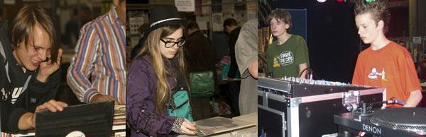 Vinyl comeback. Jongeren ontdekken het warme geluid van vinyl.