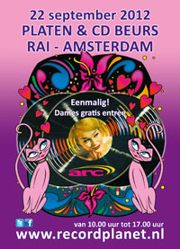 Platenbeurs RAI Amsterdam zaterdag 22 september