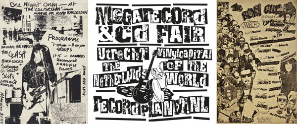 Punk at the Mega Record & CD Fair April 2014