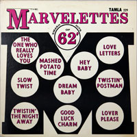 MARVELETTES  -  SING SMASH HITS OF '62 (FIRST COVER) - june - 1962