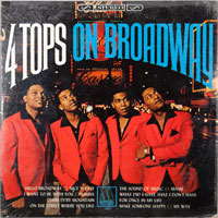 FOUR TOPS  -  ON BROADWAY - januari - 1967