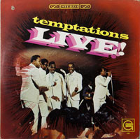 TEMPTATIONS  -  LIVE - march - 1967