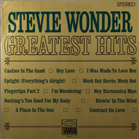 STEVIE WONDER  -  GREATEST HITS - march - 1968
