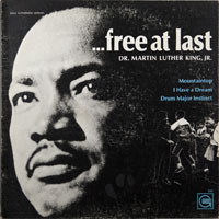 DR. MARTIN LUTHER KING  -  FREE AT LAST - june - 1968