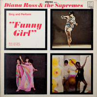 SUPREMES  -  FUNNY GIRL - august - 1968