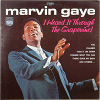MARVIN GAYE  -  IN A GROOVE - august - 1968