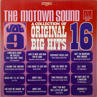 VARIOUS  -  16 BIG HITS VOL. 9 - septembe - 1968