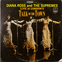 SUPREMES  -  LIVE AT LONDON'S TALK OF THE TOWN - december - 1968