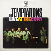 TEMPTATIONS  -  LIVE AT THE COPA - december - 1968