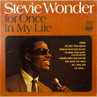 STEVIE WONDER  -  FOR ONCE IN MY LIFE - december - 1968