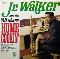 JR WALKER & ALL STARS  -  HOME COOKIN' - januari - 1969