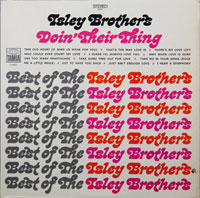 ISLEY BROTHERS  -  DOING THEIR THING/GREATEST HITS - april - 1969