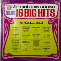 VARIOUS  -  16 BIG HITS VOLUME 10 - april - 1969