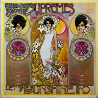 SUPREMES  -  LET THE SUNSHINE IN - june - 1969