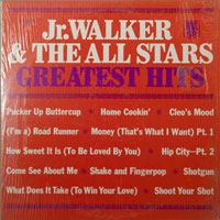 JR WALKER & ALL STARS  -  GREATEST HITS - june - 1969