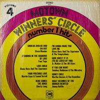 MOTOWN WINNERS CIRCLE  -  NO 1 HITS VOL. 4 - oktober - 1969