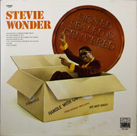 STEVIE WONDER  -  SIGNED , SEALED , DELIVERED - august - 1970