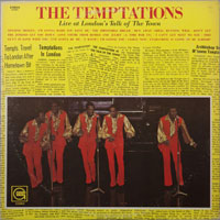 TEMPTATIONS  -  LIVE AT LONDON'S TALK OF THE TOWN - august - 1970