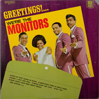 MONITORS  -  GREETINGS WE'RE THE MONITORS - septembe - 1970