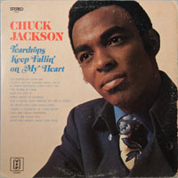 CHUCK JACKSON  -  TEARDROPS KEEP FALLING ON MY HEAD - septembe - 1970