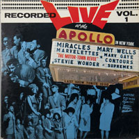 VARIOUS  -  MOTORTOWN REVUE LIVE AT THE APOLLO VOL. 1 - april - 1963