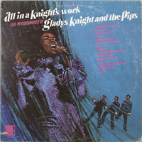 GLADYS KNIGHT  -  ALL IN A KNIGHTS WORK - oktober - 1970