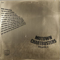VARIOUS  -  MOTOWN CHARTBUSTERS VOL. 4 - may - 1971