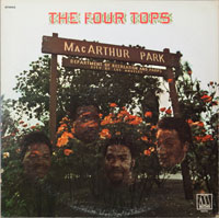 FOUR TOPS  -  MCARTHUR PARK (1971 issue of NOW) - june - 1971