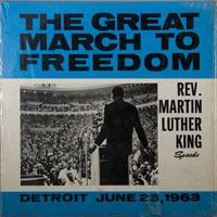 DR. MARTIN LUTHER KING  -  MARCH TO FREEDOM 6-23-'63 - june - 1963