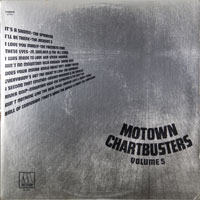 VARIOUS  -  MOTOWN CHARTBUSTERS VOL. 5 - december - 1971
