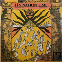 IMAMU AMIRI BARAKA  -  IT'S NATION TIME/AFRICAN VISIONARY MUSIC - april - 1972