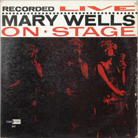 MARY WELLS  -  LIVE ON STAGE - septembe - 1963