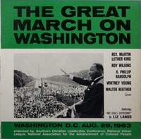 DR. MARTIN LUTHER KING  -  MARCH ON WASHINGTON - oktober - 1963