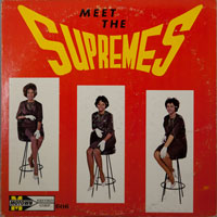 SUPREMES  -  MEET THE SUPREMES (STOOL COVER) - oktober - 1963