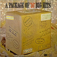 VARIOUS  -  16 BIG HITS VOL. 1 PACKAGE COVER - november - 1963