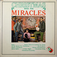 MIRACLES  -  MERRY CHRISTMAS WITH THE MIRACLES - november - 1963