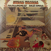 STEVIE WONDER  -  FULFILLINGNES FIRST FINALE - july - 1974