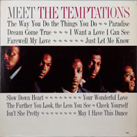 TEMPTATIONS  -  MEET THE TEMPTATIONS - march - 1964