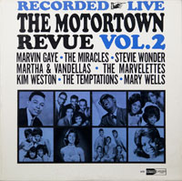 VARIOUS  -  MOTORTOWN REVUE LIVE AT THE APOLLO VOL. 2 - april - 1964