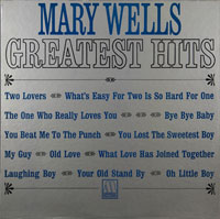 MARY WELLS  -  GREATEST HITS - april - 1964