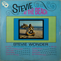 STEVIE WONDER  -  AT THE BEACH - july - 1964