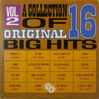 VARIOUS  -  COLLECTION OF 16 ORIGINAL BIG HITS VOL. 2 - july - 1964