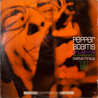 PEPPER ADAMS  -  COMPOSITIONS OF CHARLIE MINGUS - august - 1964