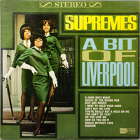 SUPREMES  -  A BIT OF LIVERPOOL - oktober - 1964