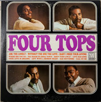 FOUR TOPS  -  FOUR TOPS - januari - 1965